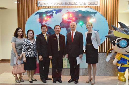 The Australian Ambassador to Thailand and His Group Visited SLRI